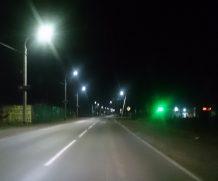 Введены в эксплуатацию объекты по освещению в населенных пунктах Хомутово и Квиток