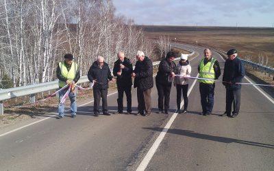 Окончен ремонт автомобильной дороги «Залари -Жигалово» в Заларинском и Нукутском районах  Иркутской области.