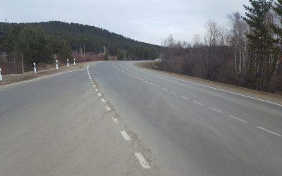 Досрочно завершился ремонт автомобильной дороги «Олха – Большой Луг» в Шелеховском районе Иркутской области