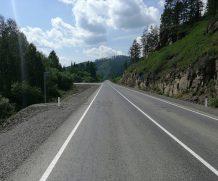 Завершился капитальный ремонт автомобильной дороги Иркутск-Большое Голоустное на участке  км 41+000 — км 46+700