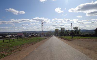 Окончен ремонт автомобильной дороги «Подьезд к с. Ирхидей» в Осинском районе Иркутской области