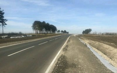 Завершены работы по ремонту автомобильной дороги «Восточный – Касьяновка — Михайловка» в Черемховском районе  Иркутской области